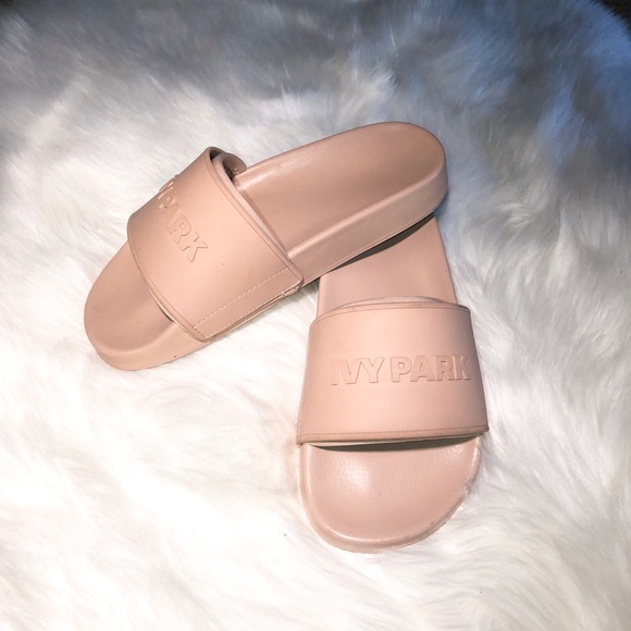 0c6a1de38 IVY PARK Shoes - Ivy Park | Blush Nude Slides
